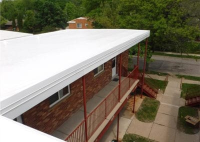 New-Commercial-Roof-Repair-on-Building