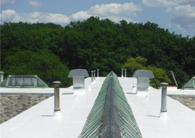 Repaired-Leaking-Roof-on-Building-near-Livonia-MI