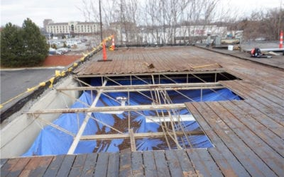 5 Ways Commercial Roofs Get Damaged